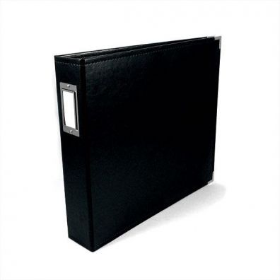 We R Memorykeepers Classic Leather Album 12x12 - Black