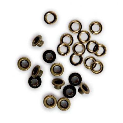 We R Memorykeepers Eyelets & Washers - Brass