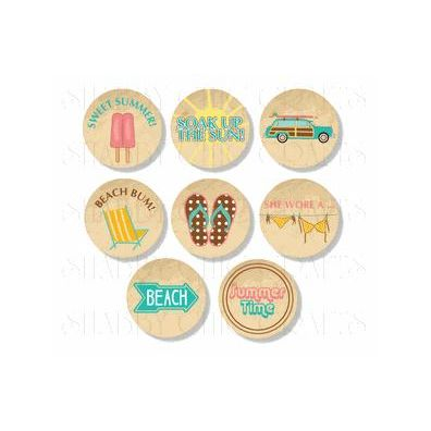 Summer Icons 8 stk