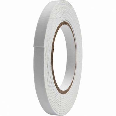 3D Foam Tape 12 mm x 5 m - 2mm tyk