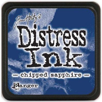 Distress Ink Mini - Chipped Sapphire