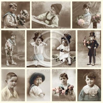 From Grandmas Attic - Boys Klippeark fra Pion Des