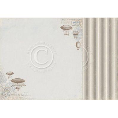 My Beloved Son - Albins Zeppelin Mønsterpapir fra Pion Des