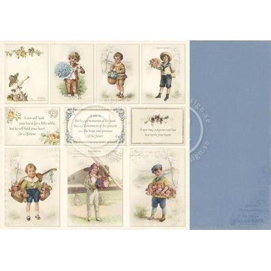 My Beloved Son - Images Mønsterpapir fra Pion Des