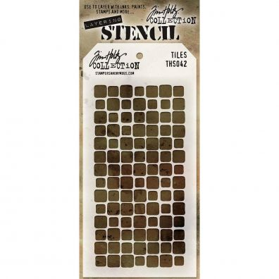 Tim Holtz Stencil/ Mask - Tiles