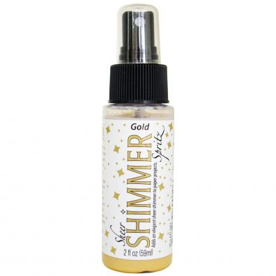 Shimmer Spritz Gold