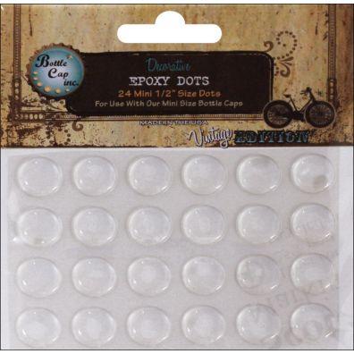 Epoxy Dots - 1/2 inch