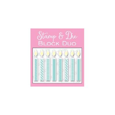 Impression Obsession Stamp & Die Block Duo Sm. Candle Block