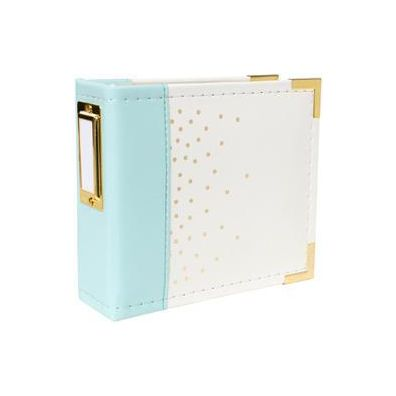 We R Memorykeepers Instagram Album Mint & Gold