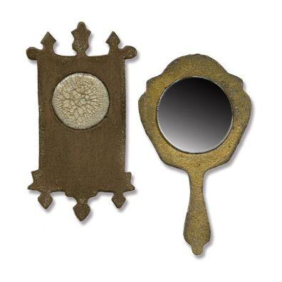 Sizzix Tim Holtz Movers & Shapers - Mini Mirror & Wall Clock