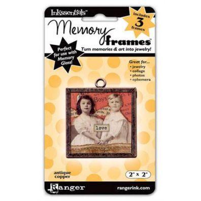 Ranger Inkssentials Memory frames 2x2 antique copper 3 pcs