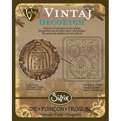 Sizzix Deco Etch - Forgotten times