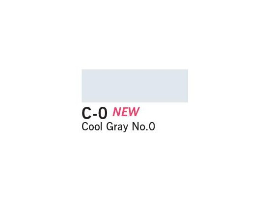 Copic Ciao Marker - C-0 Cool Gray No. 0