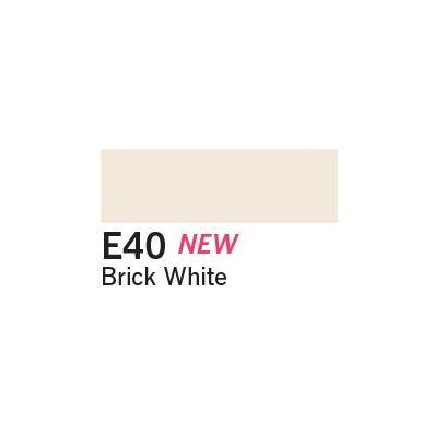 Copic Ciao Marker - E40 Brick White