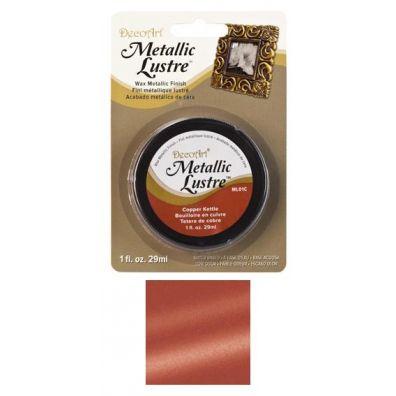 DecoArt Metallic Lustre Wax - Copper Kettle