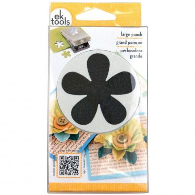 EK Success Retro Flower Punch Large