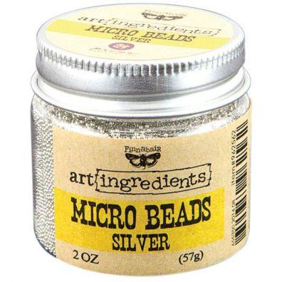 Prima Micro Beads Silver