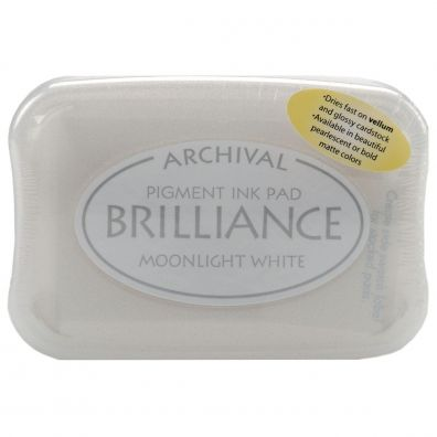 Brilliance Pigment ink pad - Moonlight White
