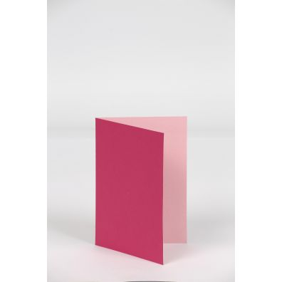 Happy Moment Foldet Kort 10,5 x 15 cm - Pink