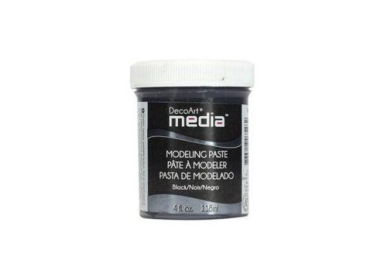 DecoArt Modelling Paste Black