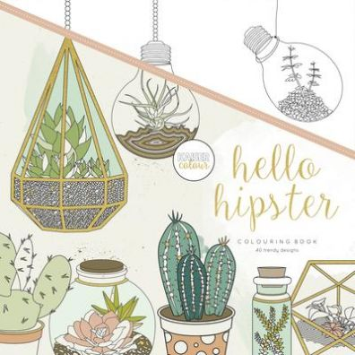Kaiser Craft Colouring Book - Hello Hipster