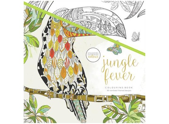 Kaiser Craft Colouring Book - Jungle Fever