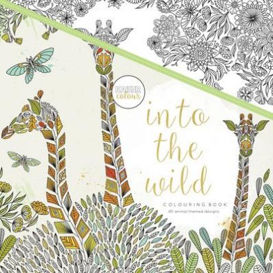 Kaiser Craft Colouring Book - Into the Wild