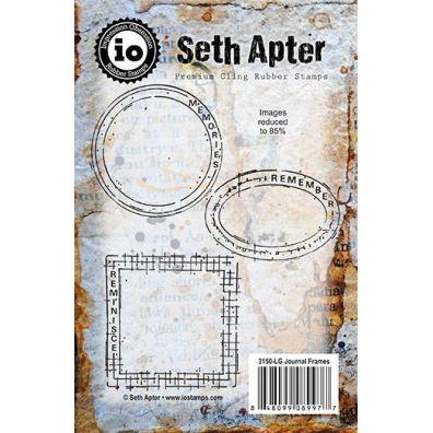 Impression Obsession Cling Stempel - Seth Apter Journal Frames
