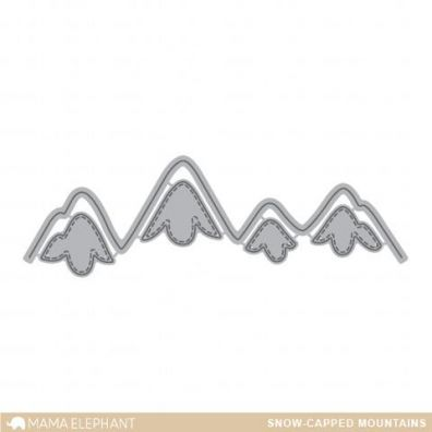 Mama Elephant Creative Cuts - Snow Capped Mountains