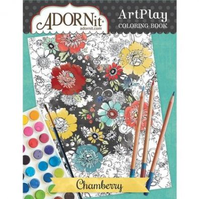 Adorn It Colouring Book - Chamberry