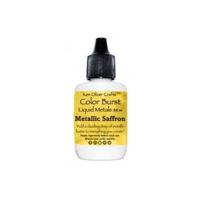 Color Burst Liquid Metals - Metallic Saffron