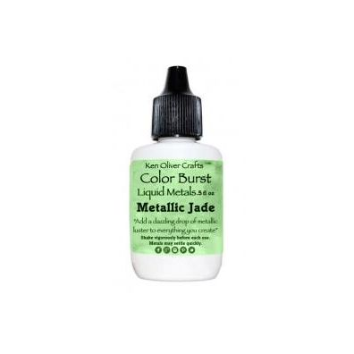 Color Burst Liquid Metals - Metallic Jade
