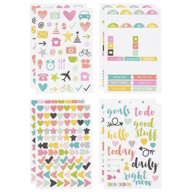 Carpe Diem Icon Stickers - Simple Stories
