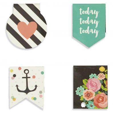 Carpe Diem Magnetic Page Markers - Simple Stories