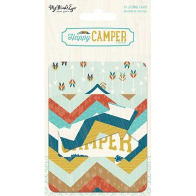 Happy Camper Journal Cards fra My Minds Eye