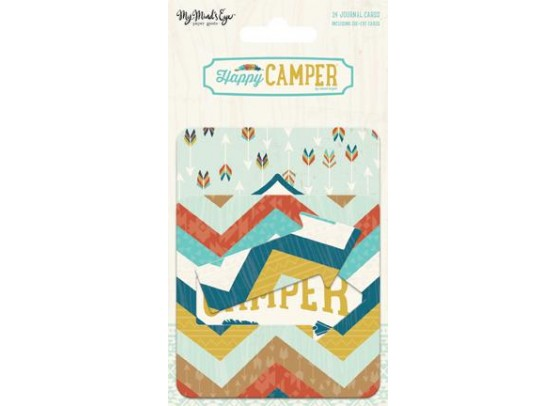 Happy Camper Journal Cards fra My Minds Eye