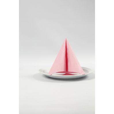 Happy Moment Servietter - 33x33 cm, lyserød, 20 stk