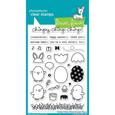 Lawn Fawn Chirpy Chirp Chirp Clear stamp