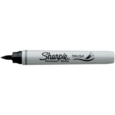 Sharpie Brush Tip Marker - Black