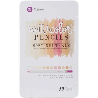 Prima Watercolor Pencils - Soft Neutrals
