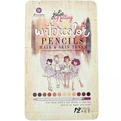 Prima Julie Nutting Watercolor Pencils - Hair & Skin Tones