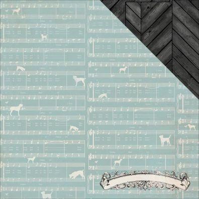 Authentique Devoted mønsterpapir - Harmonize
