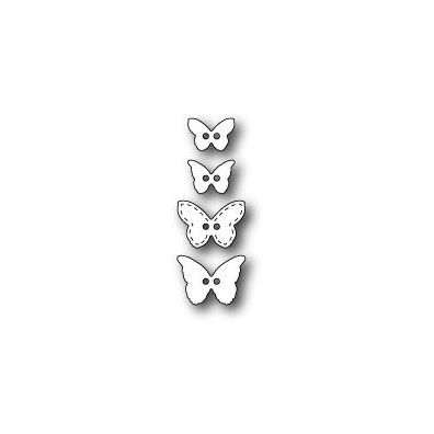 Poppystamps Dies Butterfly Buttons