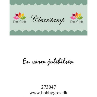Dixi Craft Dansk stempel - Konfirmation