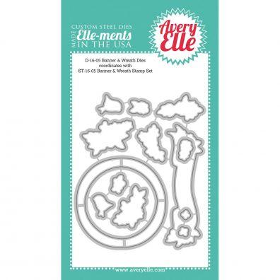 Avery Elle Dies - Banner & Wreath