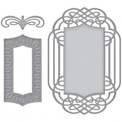 Spellbinders Dies - Ornamental Crest by Amazing Pape