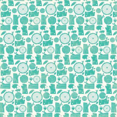 Mushroom Medley - Morels mønsterpapir fra Jillibean