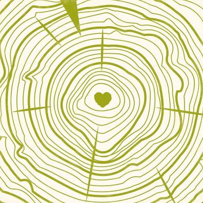Mushroom Medley - Shitake mønsterpapir fra Jillibean