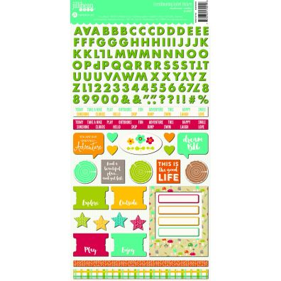 Mushroom Medley Soup Label Stickers