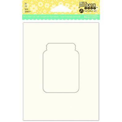 Jillibean Shaker Card - Jar